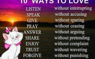 10 načinov Ljubezni