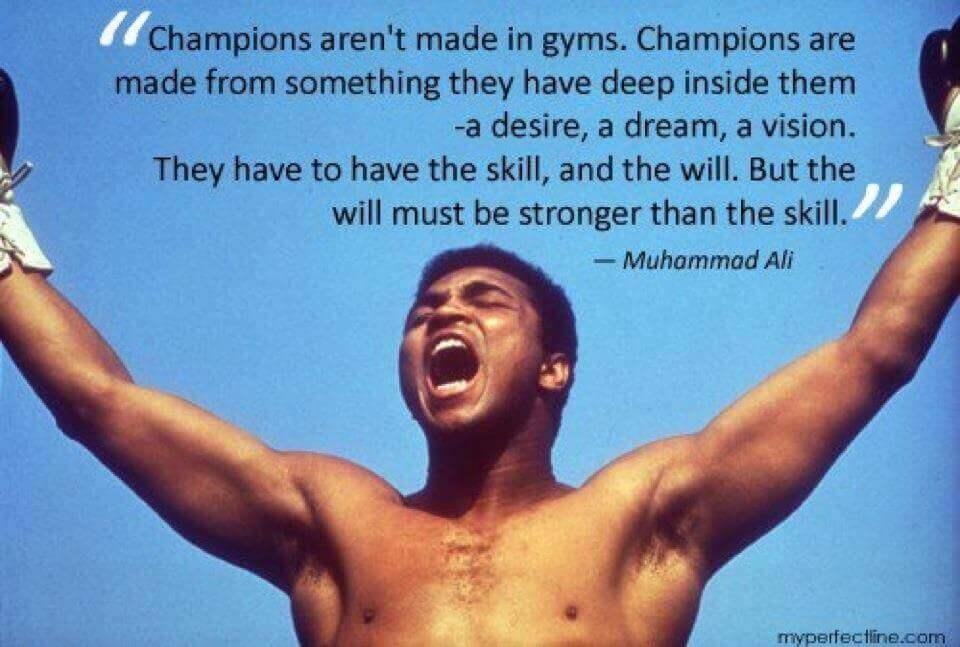 Šampijoni imajo vizijo