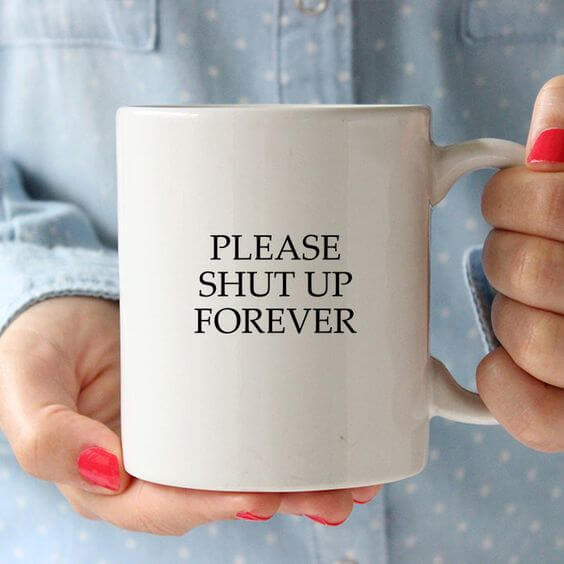 Prosim utihni