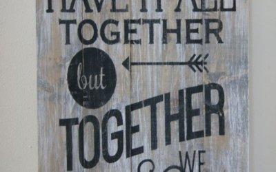 Skupaj imamo vse kar potrebujemo
