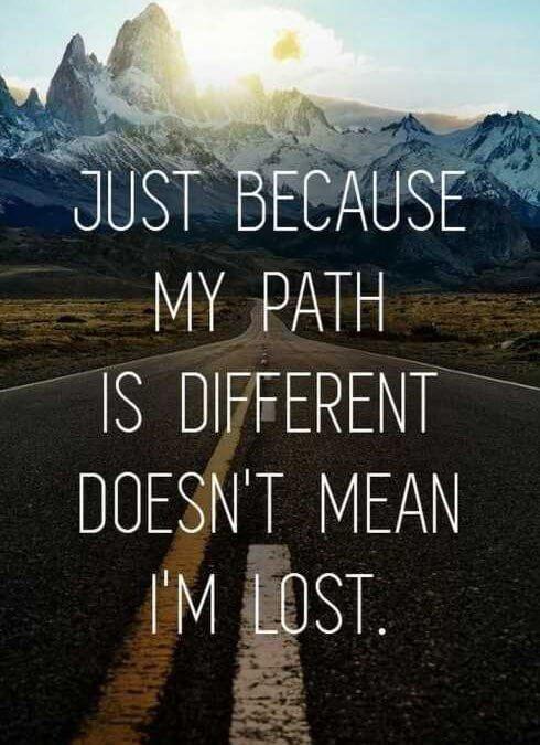 Drugačna pot ni vedno slaba