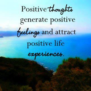 Pozitivne misli, občutki in izkušnje