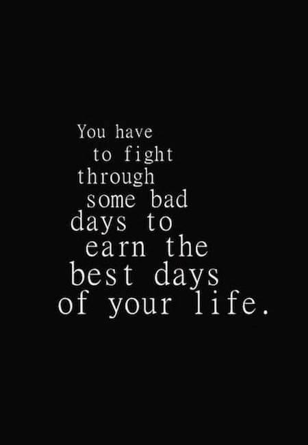 Slab dan vs najboljši dan