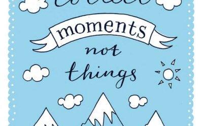 Zbirajte trenutke, ne reči