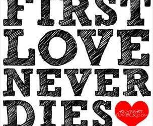 Prva ljubezen nikoli ne umre