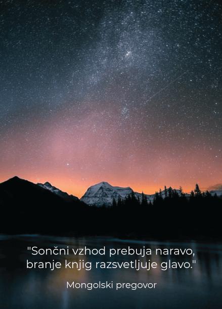 Mongolski pregovor